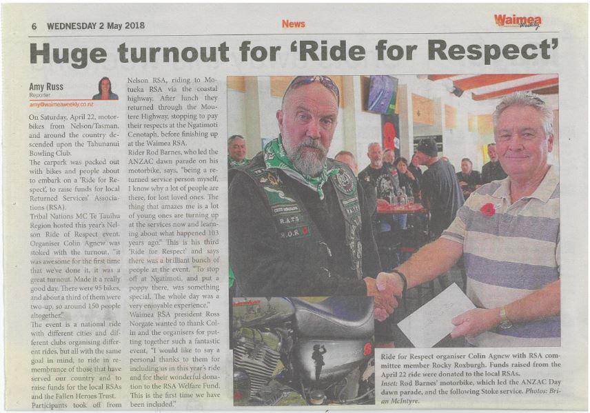 News| Richmond RSA